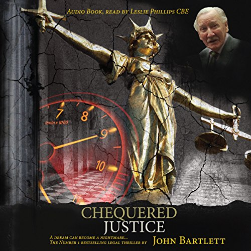 Chequered Justice audiobook cover art