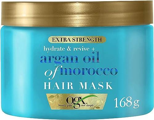 OGX Hydrate & Revive + Argan Oil Of Morocco Haarmaske, 168 g