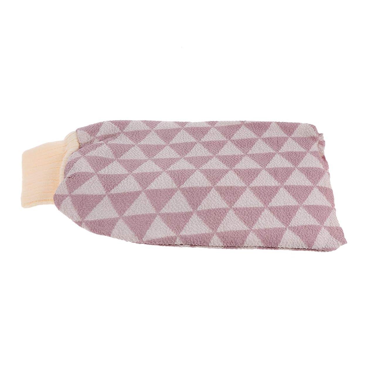 適応的キッチンローブHealifty バスウォッシュタオル剥離バスクロス手袋バックスクラバーバスクロスタオルボディ用ボディーシャワーシャワースパブラシ