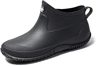 sorliva Garden Shoes Waterproof,Clogs Fishing Rain Boots,Unisex,Slip-on,Lightweight,for Men and Women/Ladies