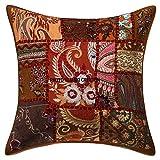 Janki Creation Kissen mit Bohemian Boho indischer, ethnischer Home Dekorative Indische Sofa-Kissen...