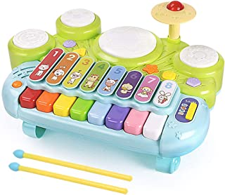 MzekiR Toy Musical Instruments for Toddlers - 3 in 1 Kids Pi