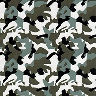 Southern Hydrographics Hydro Dipping Film Army Camo Dark Grey Printing Film 1SQ - High Resolution Graphics -Used For Guns, Yeti Cups, Auto Parts, And Many More - Easy To Use - Requires Hydro Activator