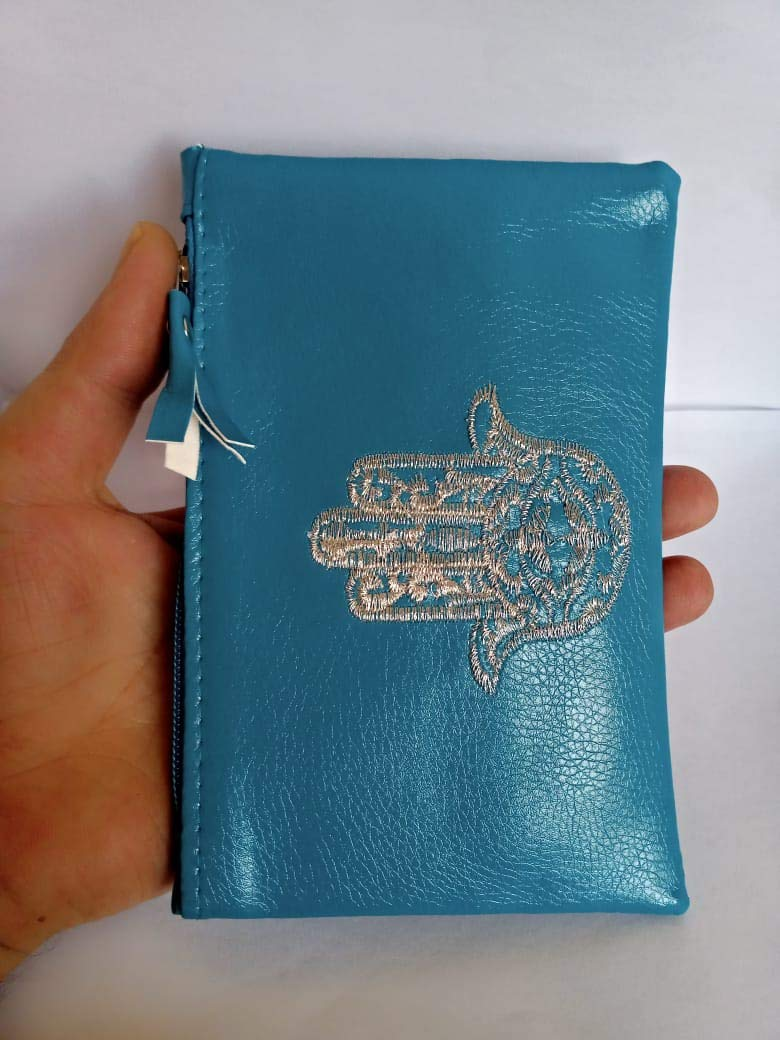 blue Mail order azur wallet pouch Some reservation card mobile gift mother's 6 day women for