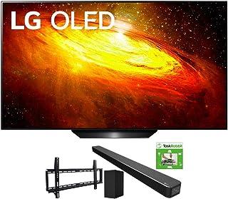 LG OLED55BXPUA 55-inch BX 4K Smart OLED TV with AI ThinQ (2020) Bundle SN6Y 3.1 Channel High Res Audio Sound Bar + TaskRab...