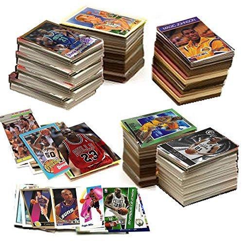 600 Basketball Cards Including Rook…