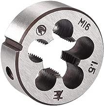 uxcell M16 M16x1.5 Pitch Metric Left Hand Round Die Machine Thread Die,Threading Die,Screw Die Tool,HSS High Speed Steel