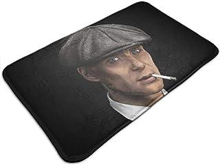 HUTTGIGH Peaky Blinders Tommy Shelby - Felpudo para puerta de entrada, antideslizante, alfombra de baño, alfombra de cocin...