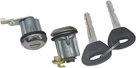 Well Auto Door Lock Cylinder -Tumbler with Key (L& R) 82 Courier 88-93 Festiva 79-89 626 77-78 B1800 79-87 B2000 82-93 B2200 87-93 B2600 77-85 GLC 77 Rotary Pickup 72-74 RX-2 72-78 RX-3 74-78 RX-4