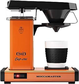 Överflödes kaffebryggare från Moccamaster Cup-One kaffebryggare orange