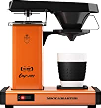 Överflödeskaffebryggare från Moccamaster Cup-One kaffebryggare orange