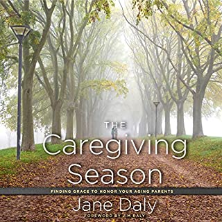 The Caregiving Season audiobook cover art