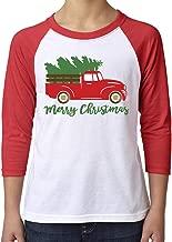 Toddler, Youth, Baby Christmas Holiday Shirt - Santa Unicorn, Christmas Truck, Santa Dinosaur, and Rhinestone Tree