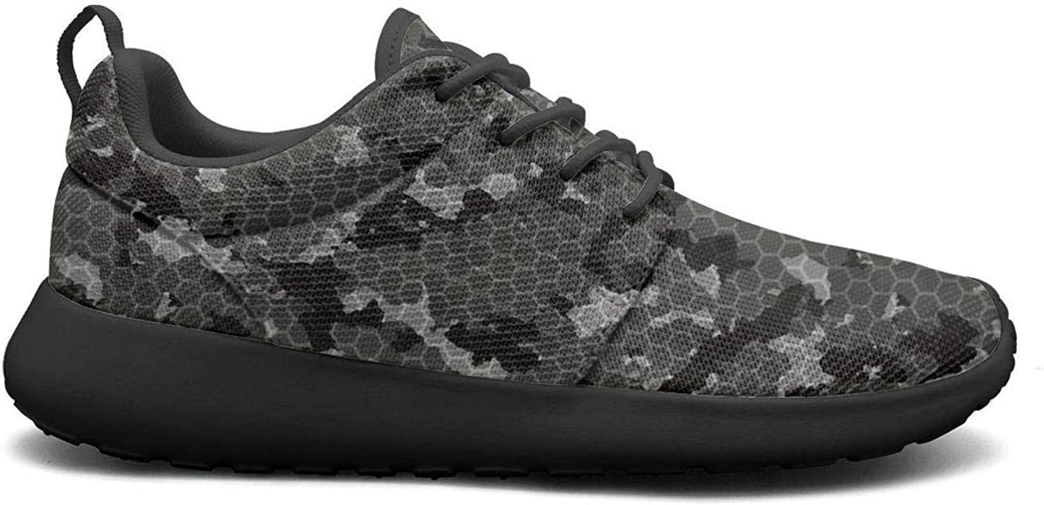 Wuixkas Camouflage Army Womens Lightweight Mesh Sneakers Climbing Athletic shoes