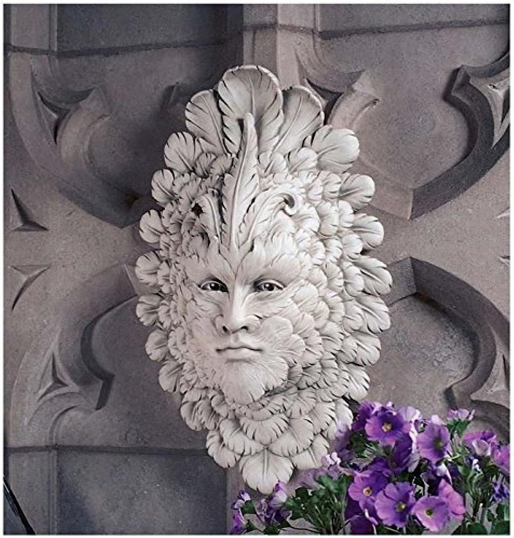 Design Toscano Presence of Carnevale  Greenman Wall Sculpture