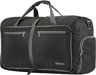 Gonex 60L Foldable Travel Duffel Bag Water & Tear Resistant, Gray