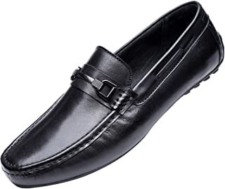 leather shoe black