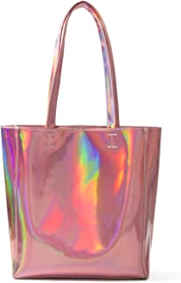Choies Women's Hologram PU Shopper