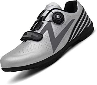 Road Cycling Shoes Men Reflective Bicycle Shoes Mountain Bike Shoes Mountain Cycle Sneaker Racing Shoes