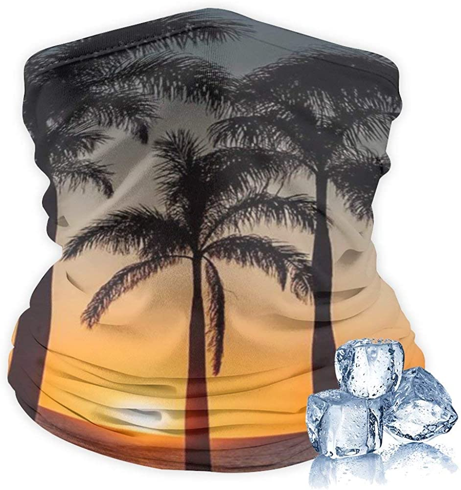 Unisex Multifunctional Headwear Seamless Bandana Neck Gaiter Face Cover