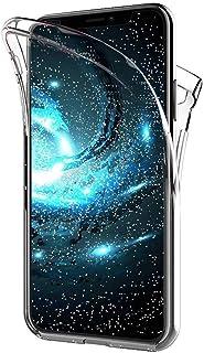 XCYYOO Coque pour iPhone XR, iPhone XR Intégrale Avant et Arrière 360 Degrés Étui de Protection,[Avant + Arrière] Silicone...