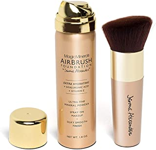 Jerome Alexander Airbrush Foundation (2 Piece Set, Medium)