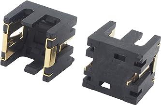 オーディオファン 電池ボックス LR44用 2個用 2ピン AG13 A76 電池ボックス基板取り付け 2点セット