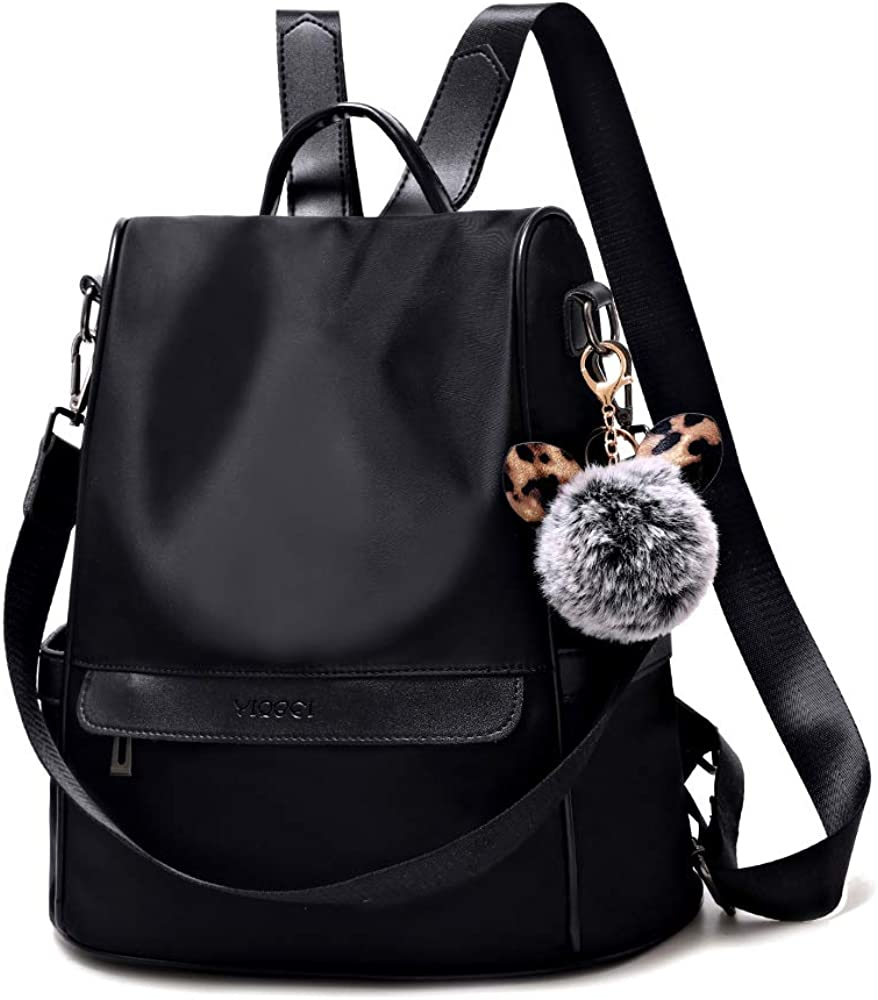 Women Backpack Purse Anti-theft Waterproof Nylon Fashion Lightweight Travel Shoulder Bag