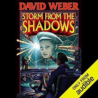 Storm from the Shadows                    By:                                                                                                                                 David Weber                               Narrated by:                                                                                                                                 Jay Snyder                      Length: 31 hrs     61 ratings     Overall 4.4