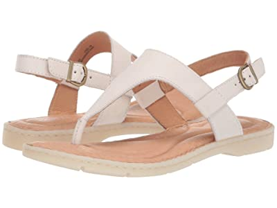 Born Taylor (White Full Grain Leather) Women