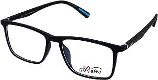 RETRO Unisex-adult Spectacle Frames Rectangular 5601 M.Dark Blue/Black