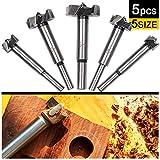 23mm Broca de acero de tungsteno para carpinter/ía Agujero Sierra Cortador Mango redondo para madera Contrachapado