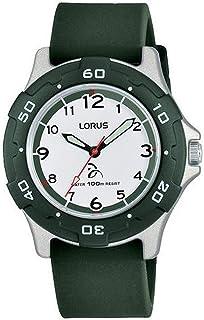 Lorus Kids Childrens Analog Quartz Watch with Silicone Bracelet RRX15GX9