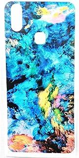 جلد خلفي من ألياف الكربون ، مطبوع بالليزر مطفي وناعم ، سهل التركيب فيفو Y11 - 2725610036260