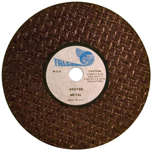Falcon A60TBE Extra Tough Resinoid Bonded Double Reinforced Grinding and Snagging Abrasive Cut-off Wheel, Type 1, Aluminum Oxide, 1/4
