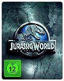 Jurassic World - Premium Steelbook Edition mit 2 Dinosaurier-Figuren [Blu-ray] [Limited Edition]