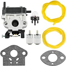 308480001 Carburetor for Toro 51944 51945 51946 51947 51948 51952 51954 51955 51956 Toro 308480001 Walbro WYC-7-1 / WYC-7 with Primer Bulb Fuel Line Parts Kit Carb Engine Vacuum Blower String Trimmer