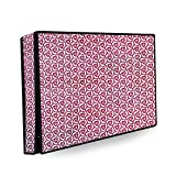 Stylista Printed led tv Cover Compatible for LG 24 inches led tvs (All Models)