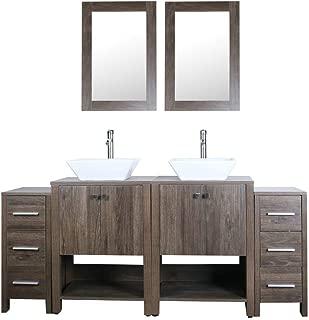 Best wood sink vanity Reviews