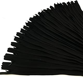 (36cm, Black) - 30PCS Invisible Nylon Coil Zipper,Clothing Zipper,DIY Sewing Tools for Craft Special(36cm,Black)