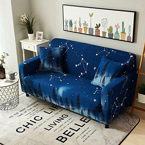 Funda de sofá Universal elástica elástica para sofá de Sala de Estar, Funda de Esquina de sofá seccional para Muebles A23, 2 plazas