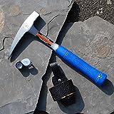 Geologenhammer im Paket 1 für z.B. Erstsemester mit Lupe und Tasche