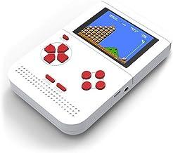Lanlan Retro Mini Game Console de Jeux vidéo Portable Gameboy Built-in 300Jeux Classiques, Cadeau pour Enfants et garçons