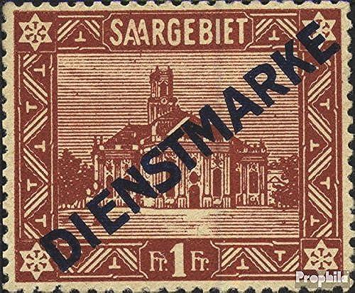 Prophila Collection Saarland D11I 1922 Freimarken (Briefmarken für Sammler)