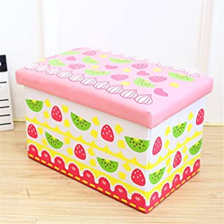 Foldable Pop Room Tidy Storage Chest Toy Box For Girls And Boys Perfect For Household Storage  Fabrics Toys  Color Multi-colored  Size Free size