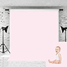 Kate 8x8ft Pink Backdrops for Photographer Photography Pure Color Solid Photo Background