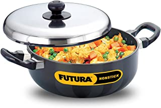 Futura Non Stick 9-Inch All Purpose Frying Pan with Stainless Steel Lid, 3.0-Liter