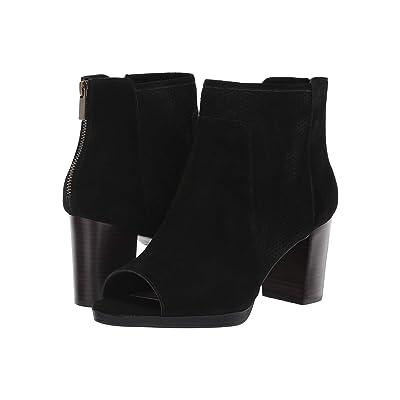 Bella-Vita Luna (Black Suede Leather) Women