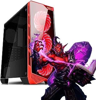 PC Gamer AMD A8-9600, 8GB RAM DDR4, HD SSD 240GB, Vídeo Radeon R7, Gabinete com LED, Garantia 01 ano