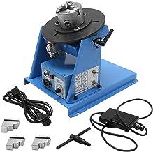 Hanchen Rotary Welding Positioner 0-90º 180mm Turntable Table Welder Positioner for Circle Welding 3.15